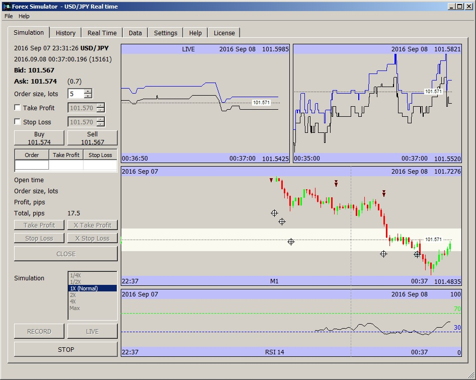 Forex simulator software free